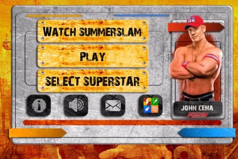 Screenshot WWE SummerSlam Slingshot